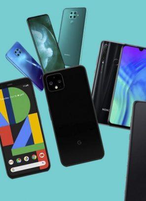 Հոկտեմբեր ամսվա  լավագույն սմարթֆոնների ցանկը գլխավորում են Google Pixel 4 և Pixel 4 XL-ը