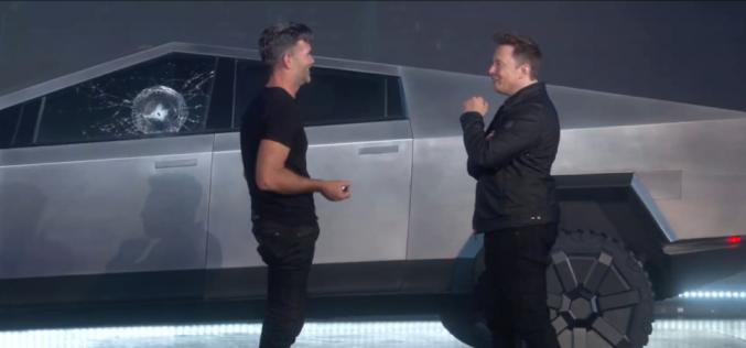 Cybertruck. Tesla-ն ներկայացրել է Էլեկտրական  հերթական պիկապը