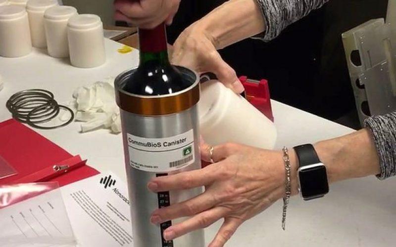 Ֆրանսիական սթարթափը  գինին փորձարկման կենթարկի  Տիեզերքում