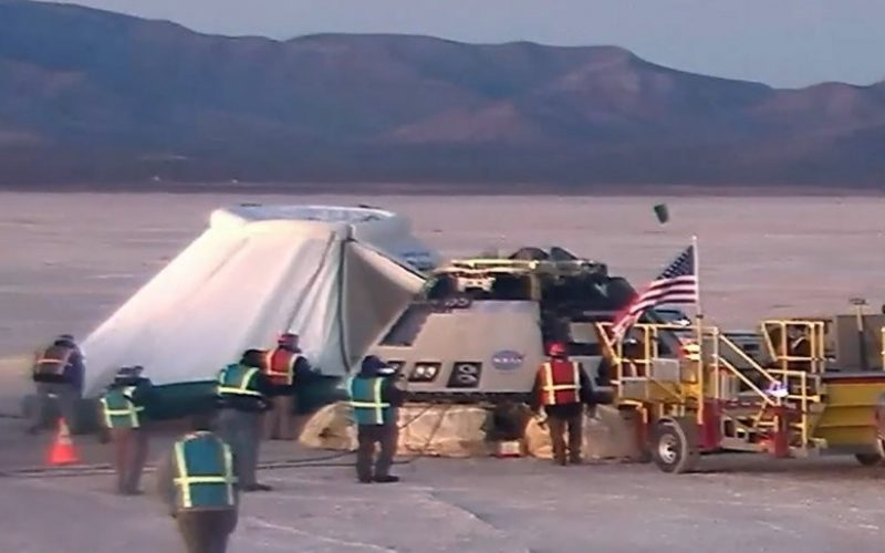 NASA-ի՝ անհաջող գործարկված տիեզերանավը վերադարձել է Երկիր
