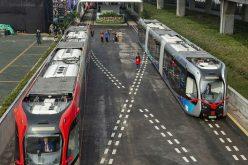 Չինաստանում գործարկվել է ինքնավար գնացք, որն աշխատում է վիրտուալ ռելսերի վրա