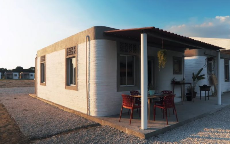 Մեքսիկայում եռաչափ տպիչով կառուցել են գյուղական տներ