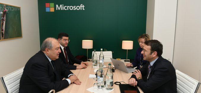 «Մայքրոսոֆթ»-ը հետաքրքիր գործընկեր կարող է լինել նախագահական ATOM ծրագրի համար․ Արմեն Սարգսյան
