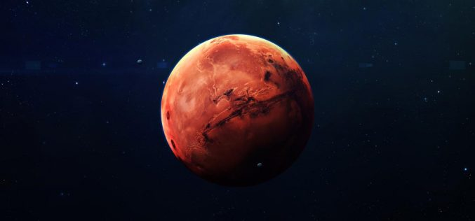 Համացանցում հայտնվել է սառցե Մարսի լուսանկարը