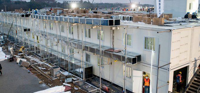 Ուհանում 10 օրվա ընթացքում  հիվանդանոց է կառուցվել․լուսանկարներ