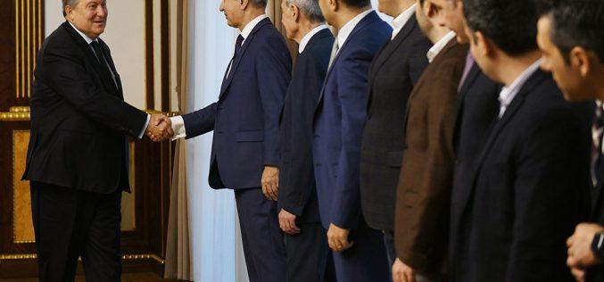 Արմեն Սարգսյանը հանդիպել է տեխնոլոգիական ընկերությունների ղեկավարների հետ