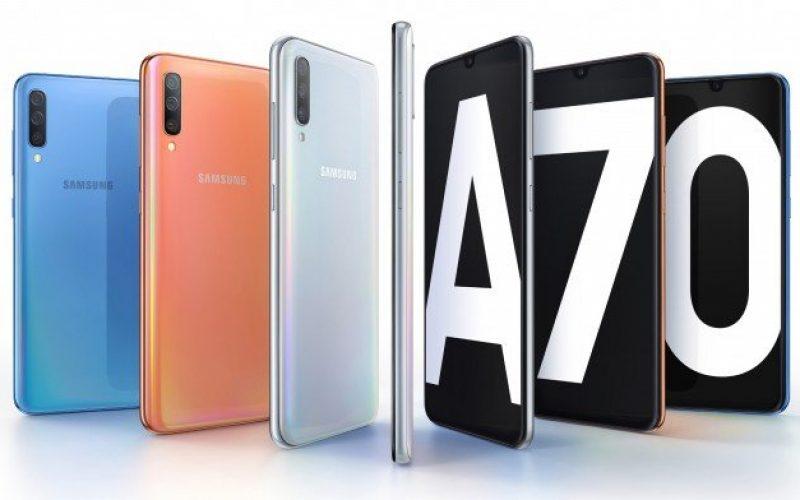 Samsung Galaxy A70 սմարթֆոնների շարքը կհամալրվի եւս մեկ մոդելով