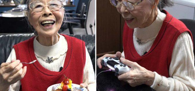 Գեյմեր տատիկը գրանցվել է Գինեսի ռեկորդների գրքում։ Նա 90 տարեկան է (տեսանյութ)