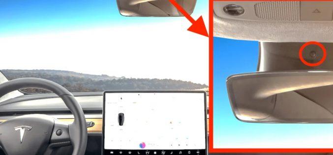 Ահա, թե ինչի համար էր Tesla Model 3-ի սալոնում տեղադրված տեսախցիկը