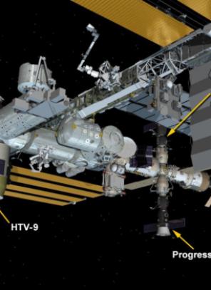 Միջազգային տիեզերակայանի ներկայիս կառուցվածքը