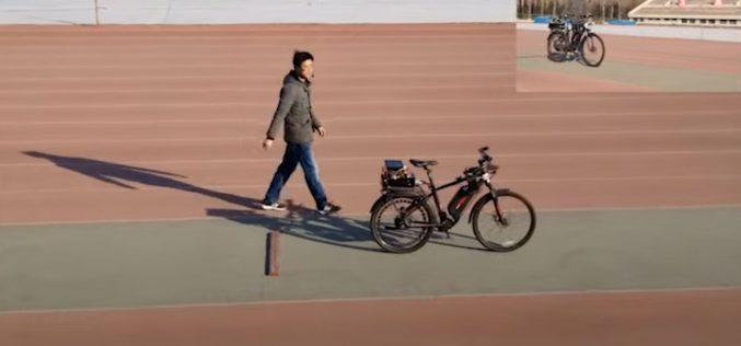 Ինքնավար հեծանիվ Չինաստանից(տեսանյութ)