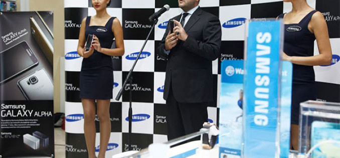 «Samsung Electronics»-ը ներկայացնում է Galaxy Alpha սմարթֆոնը Հայաստանում