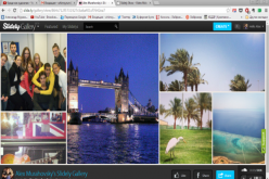 Slidely` ինչպես ստանալ ինտերակտիվ կոլաժներ լուսանկարներից