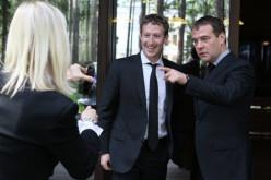 Facebook-ի հիմնադիրը ՌԴ վարչապետի հետ զրուցել է հեղինակային իրավունքից