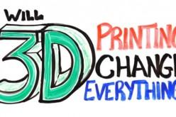 3D տպագրության ապագան 3 րոպեում (վիդեո)