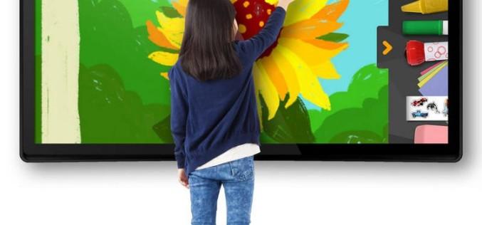 CES 2015. 65 դյույմանոց Android-գրատախտակ՝ 21-րդ դարի դպրոցականների համար