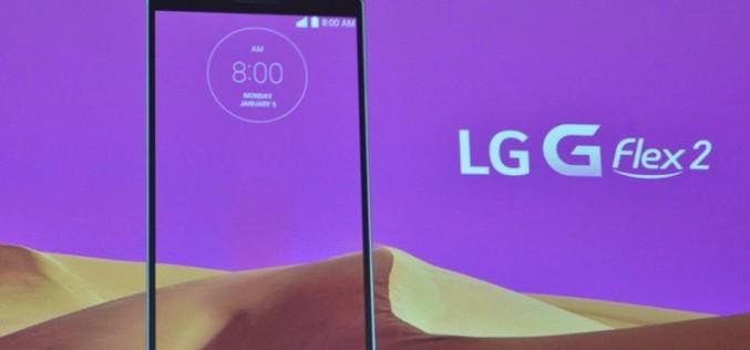 CES 2015. LG-ն ներկայացրել է G Flex 2 կոր էկրանով սմարթֆոնը