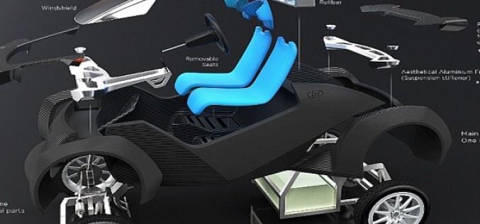 3D տպիչով պատրաստվել է առաջին մեքենան (վիդեո)