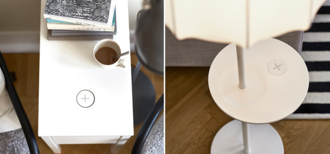 IKEA-ն ներկայացրել է անլար լիցքավորման համակարգով կահույք