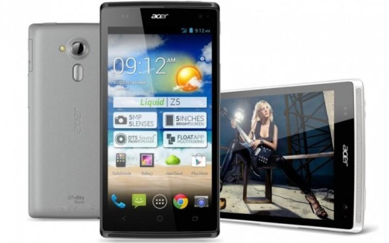 Liquid Z5՝ նոր սմարթֆոն Acer-ից (CES 2014)
