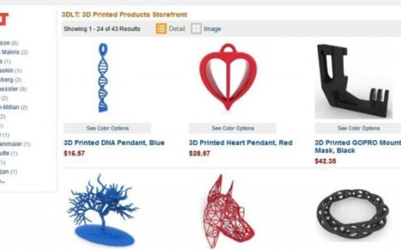 Amazon-ում բացվել է 3D տպված իրերի բաժին
