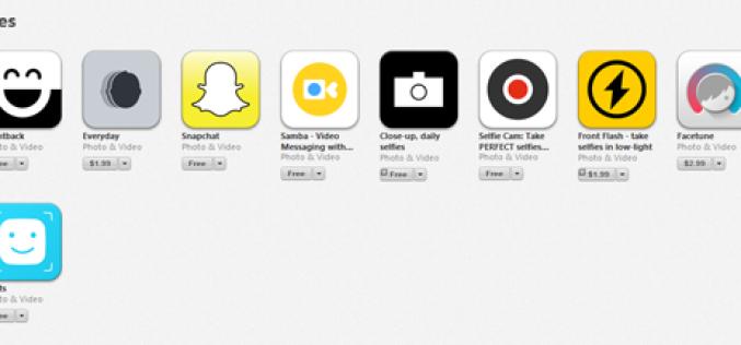 Apple-ն App Store-ում ավելացրել է selfie հավելվածների բաժին