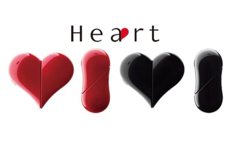 Ճապոնիայում թողարկել են սրտի տեսքով բջջային հեռախոս