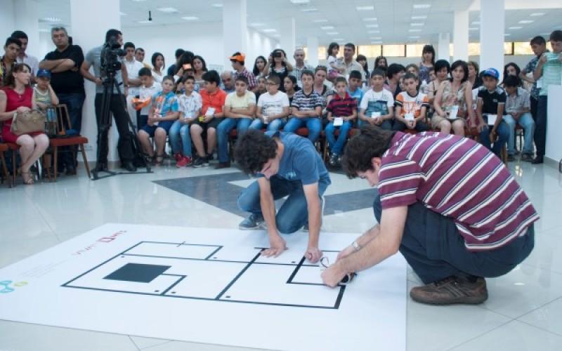Տեղի կունենա «Գծին հետևող և իրեր դասակարգող ռոբոտ» մրցույթի եզրափակիչը