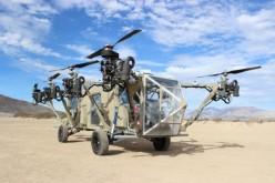 ԱՄՆ բանակը փորձարկել է առաջին անօդաչու թռչող բեռնատար մեքենան (վիդեո)