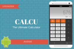 CALCU` ժեստեր ճանաչող հարմար հաշվիչ