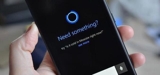 Հրապարակվել են Microsoft-ի Cortana ձայնային օգնականի ինտերֆեյսի նկարները