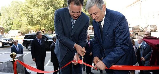 Նախագահ Սերժ Սարգսյանը ներկա է գտնվել Գյումրիի տեխնոլոգիական կենտրոնի բացմանը