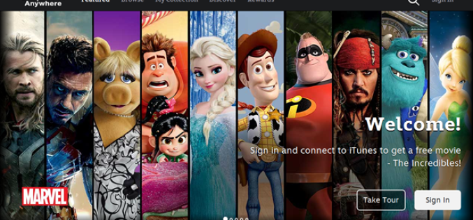 Disney-ը թողարկել է ֆիլմերի iOS հավելված