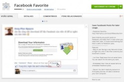 Facebook Favorite`Chrome հավելում սոցցանցի սիրահարների համար