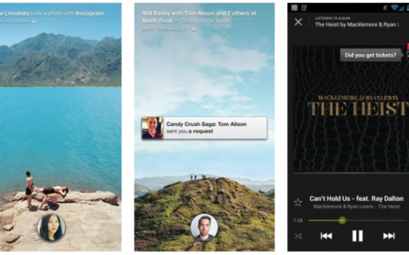 Facebook Home-ի նոր տարբերակը հնարավոր կլինի ինտեգրել Instagram-ի և այլ հավելվածների հետ