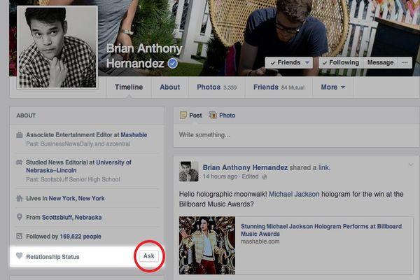Facebook-Relationship