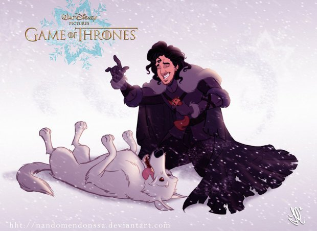 Game of thrones illustration 02