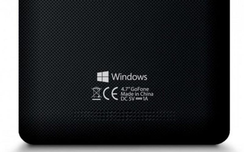 My Go GoFone սմարթֆոնի վրա արդեն կարելի է տեսնել Windows-ի լոգոտիպը