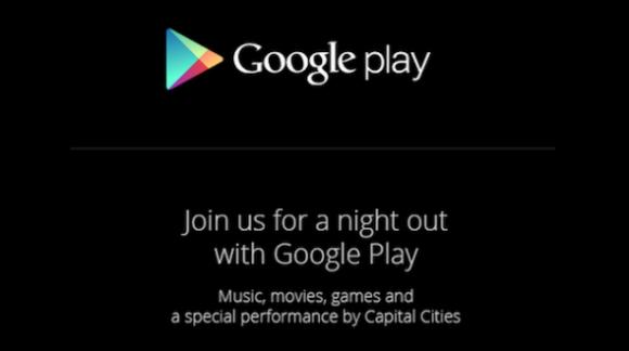 Google Play Event 2013