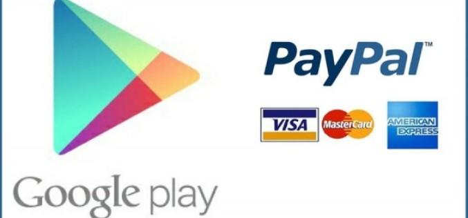 Google Play-ը ստացել է PayPal ապահովում