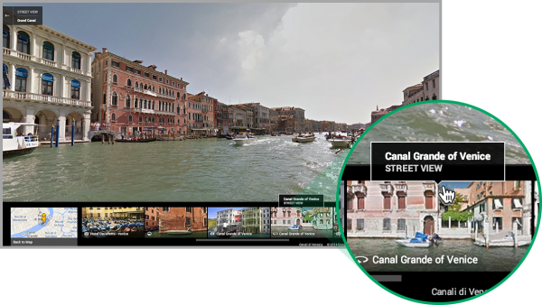 Google maps new interface