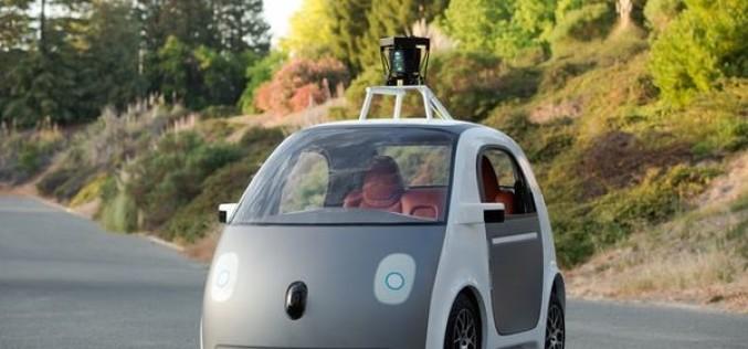 Google-ը ցուցադրել է իր ավտոպիլոտով ու առանց ղեկի մեքենան (վիդեո)