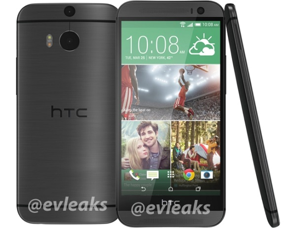 HTC The All New One dark gray