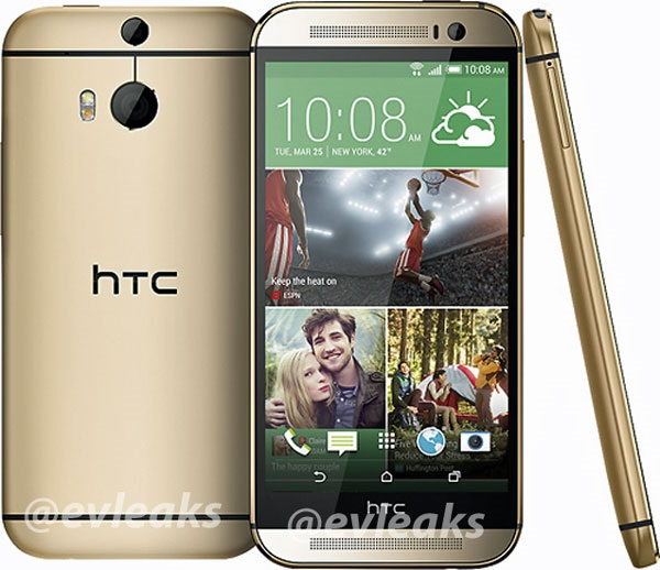 HTC The All New One gold