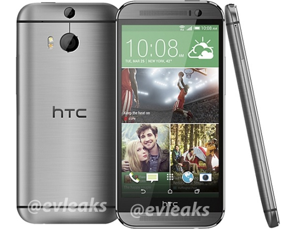 HTC The All New One silver