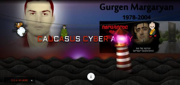Hacked by Caucasus Cyber Army
