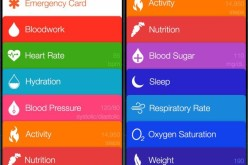 Հրապարակվել են Apple-ի Healthbook հավելվածի սքրինշոթները