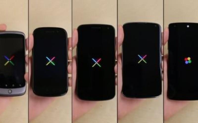 Բոլոր սերունդների Nexus սմարթֆոնների փորձարկում (վիդեո)