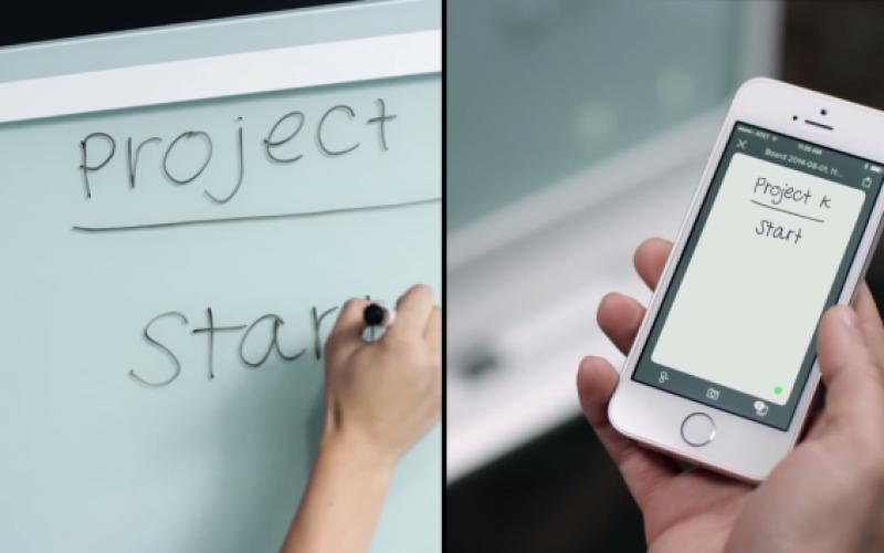 SMART kapp գրատախտակ՝ ժամանակակից գրասենյակի համար (տեսանյութ)