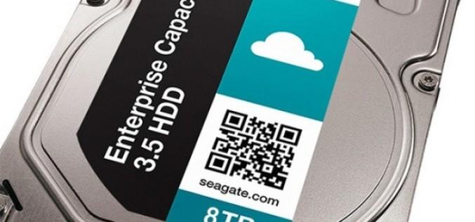 Seagate-ը թողարկել է 8Տբ ծավալով աշխարհի առաջին կոշտ սկավառակը